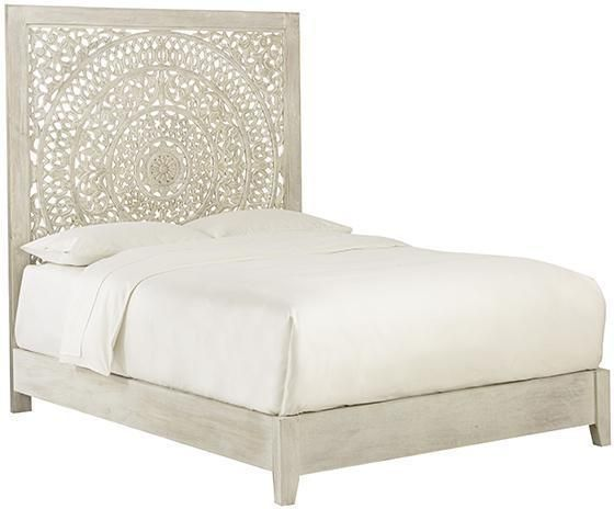 Anthropologie Lombok Replica Moroccan Coastal White Washed Wood Platform Bed Ebay Diy Bedroom Decor Bedroom Styles Home