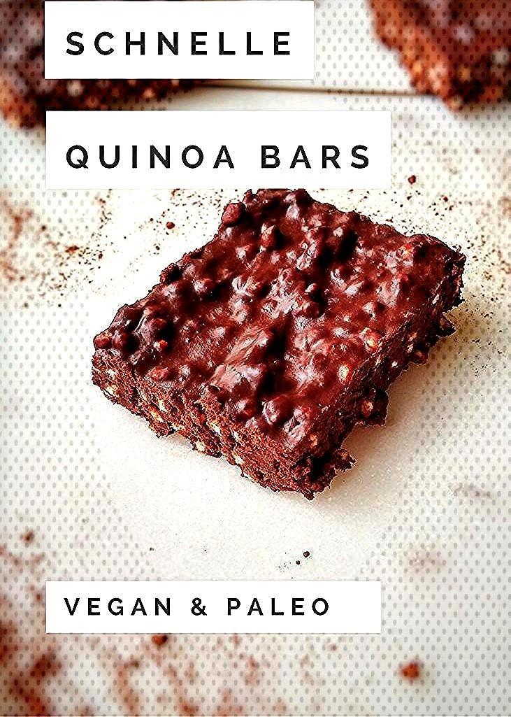 Schnelle amp einfache Quinoa Bars -