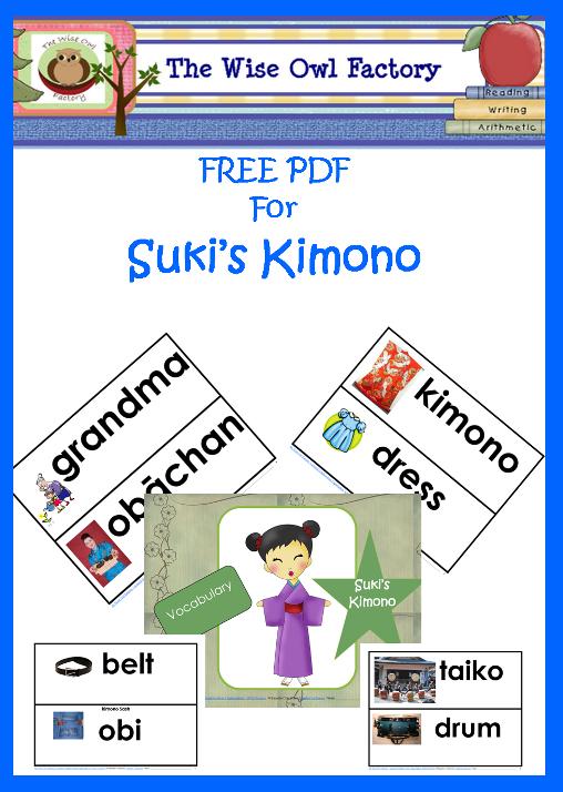 free printable for suki 39 s kimono kids 39 story time japan for kids reading street 3rd grade. Black Bedroom Furniture Sets. Home Design Ideas