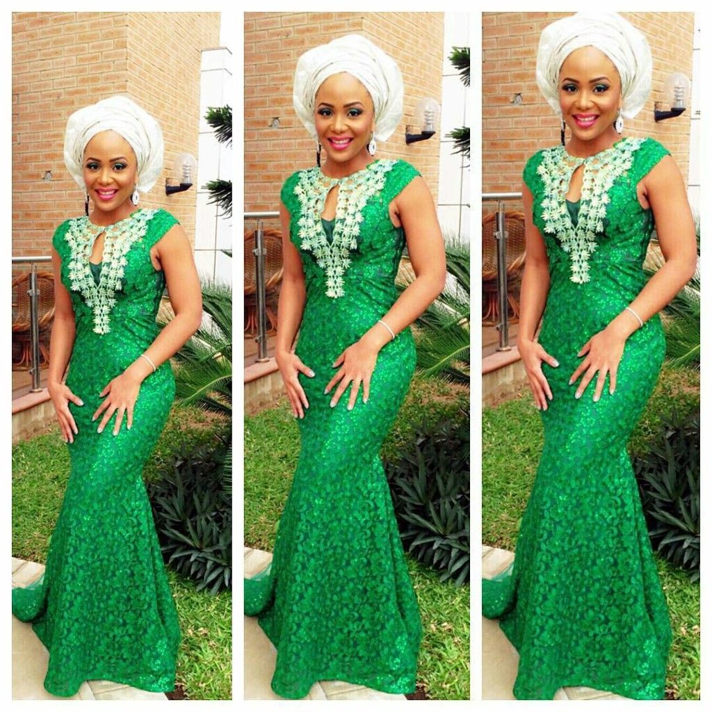2017 05 aso ebi fashion styles nigeria wedding event fashion - The Succulent Shade Of Green Wedding Digest Naija Find This Pin And More On Ankara And Aso Ebi Styles