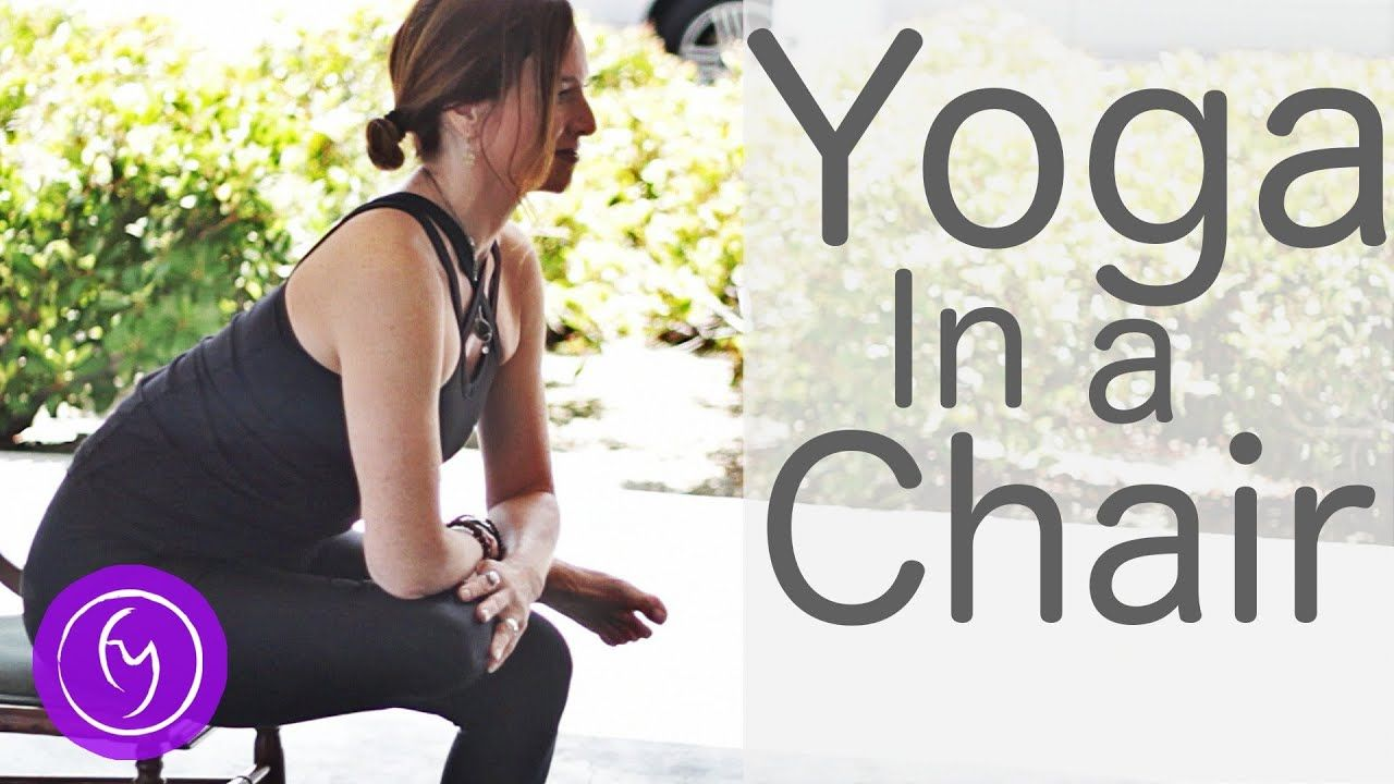 10 Minute Yoga in a Chair (For Beginners) Fightmaster