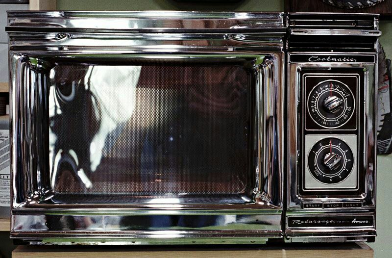 vintage amana radarange microwave