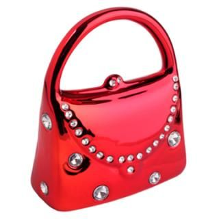 Red Bag Shape S Money Box Cute Handbag Designed Coin Bank For Las