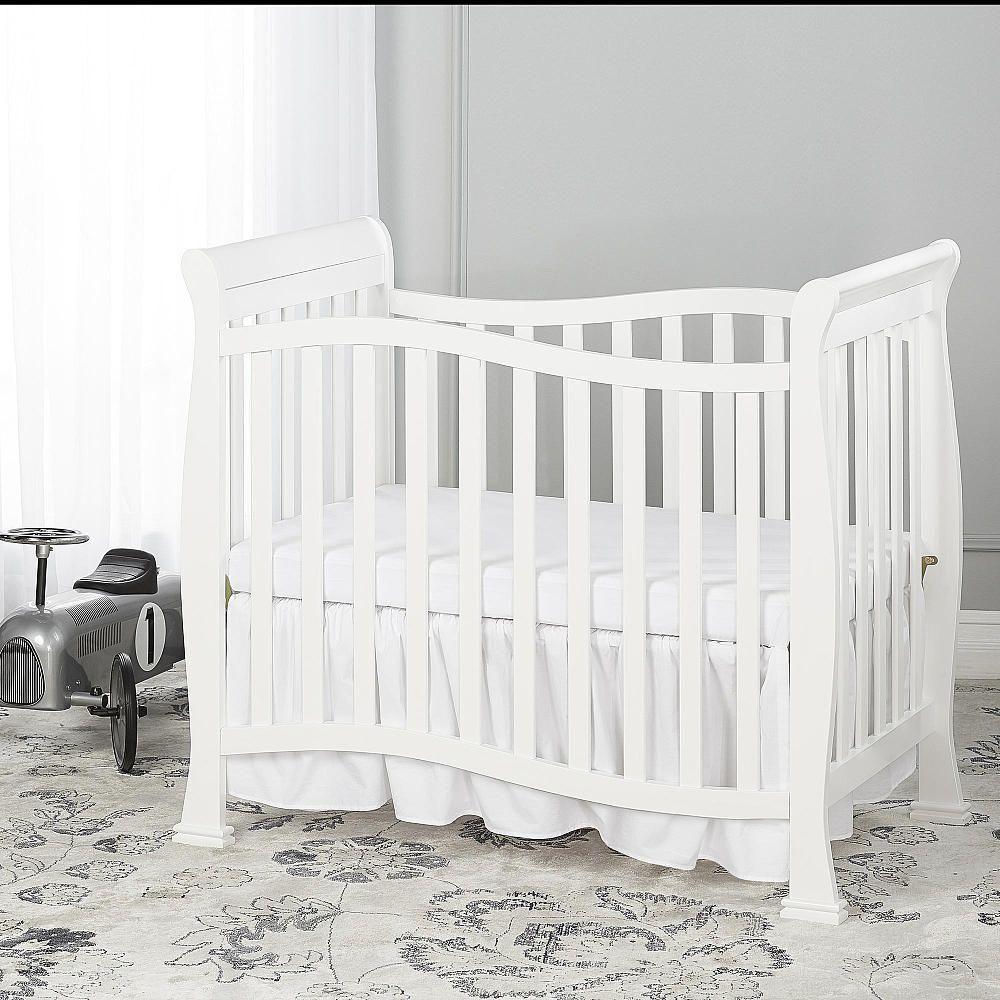 Dream On Me Piper 4 In 1 Convertible Mini Crib Mini Crib Cribs White Crib