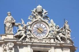 Clock on St. Peter's Basilica