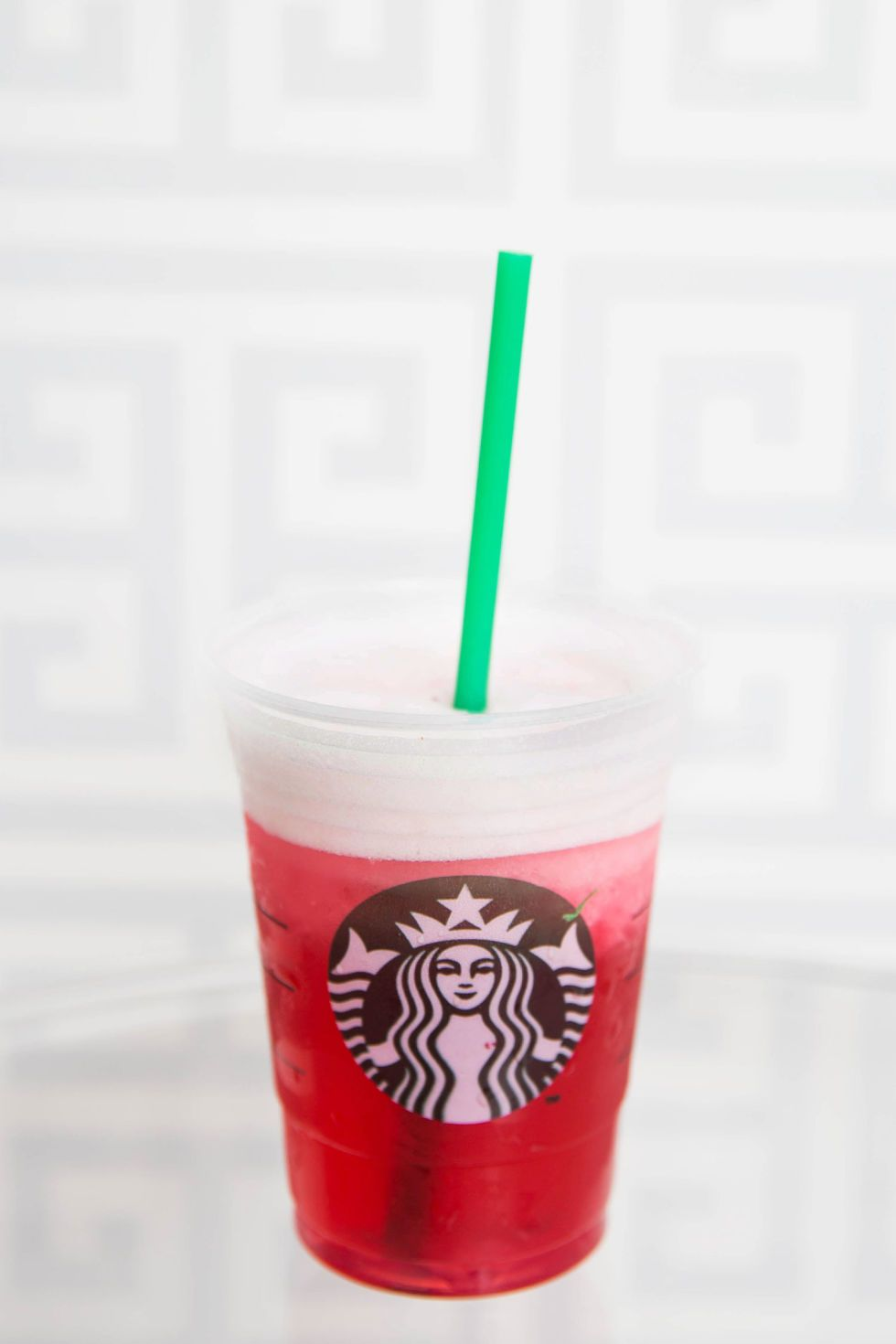 Slushy Passion Teavana - Shaken Iced Passion Tango Tea Lemonade blended with a cream base.