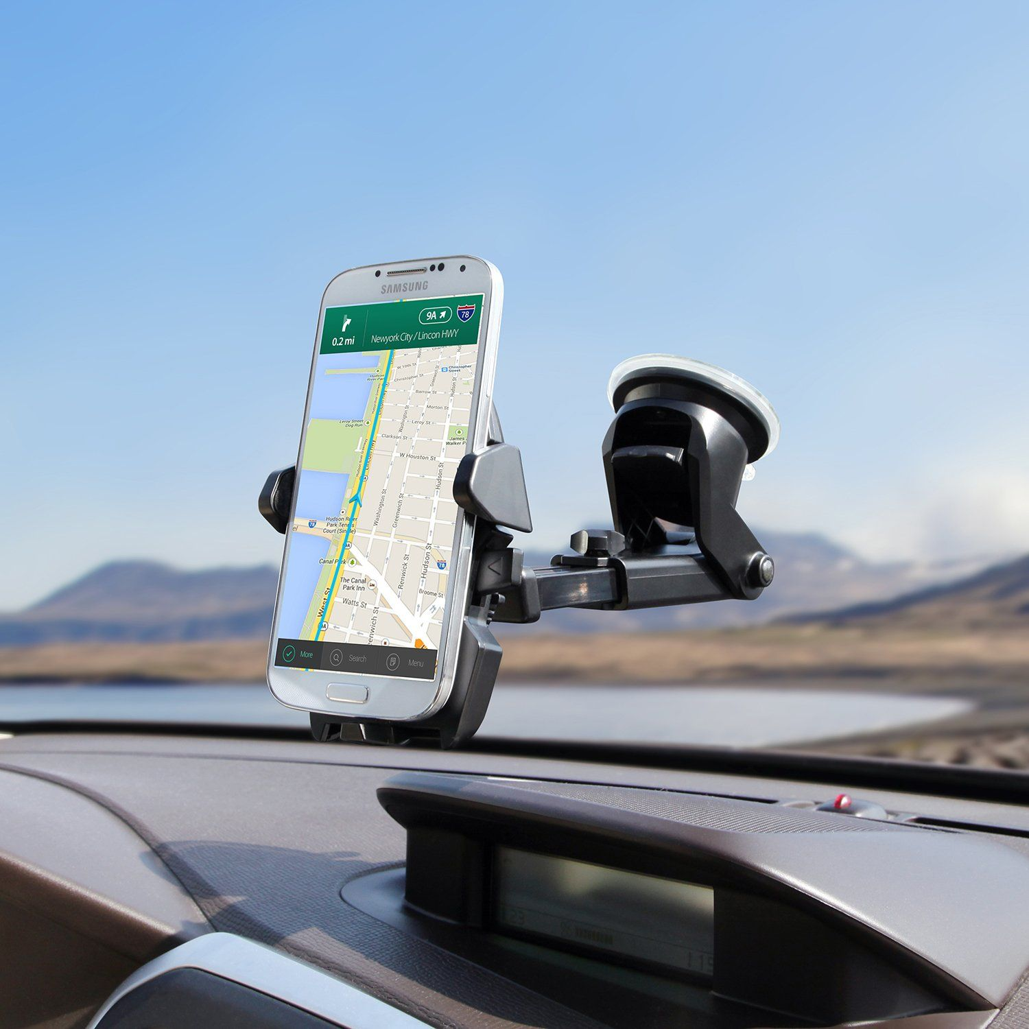 Car dashboard accessories toys  iOttie Easy One Touch  Car Mount Holder for iPhone  Plus