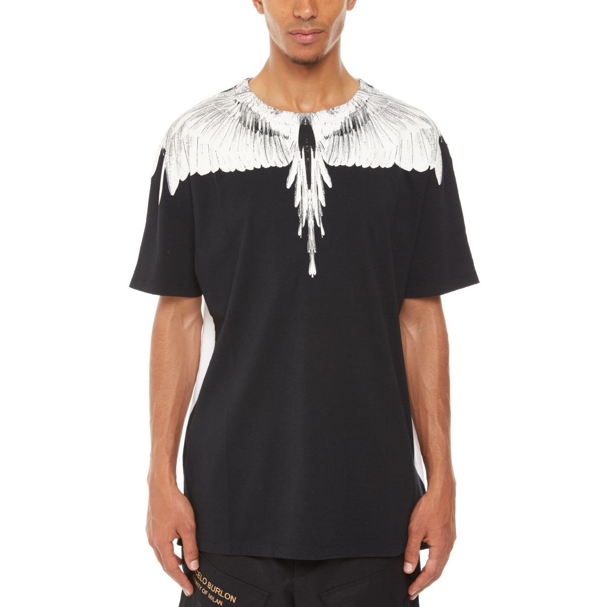 bc3c8b24 Double Wing t-shirt from the S/S2018 Marcelo Burlon County of Milan  collection