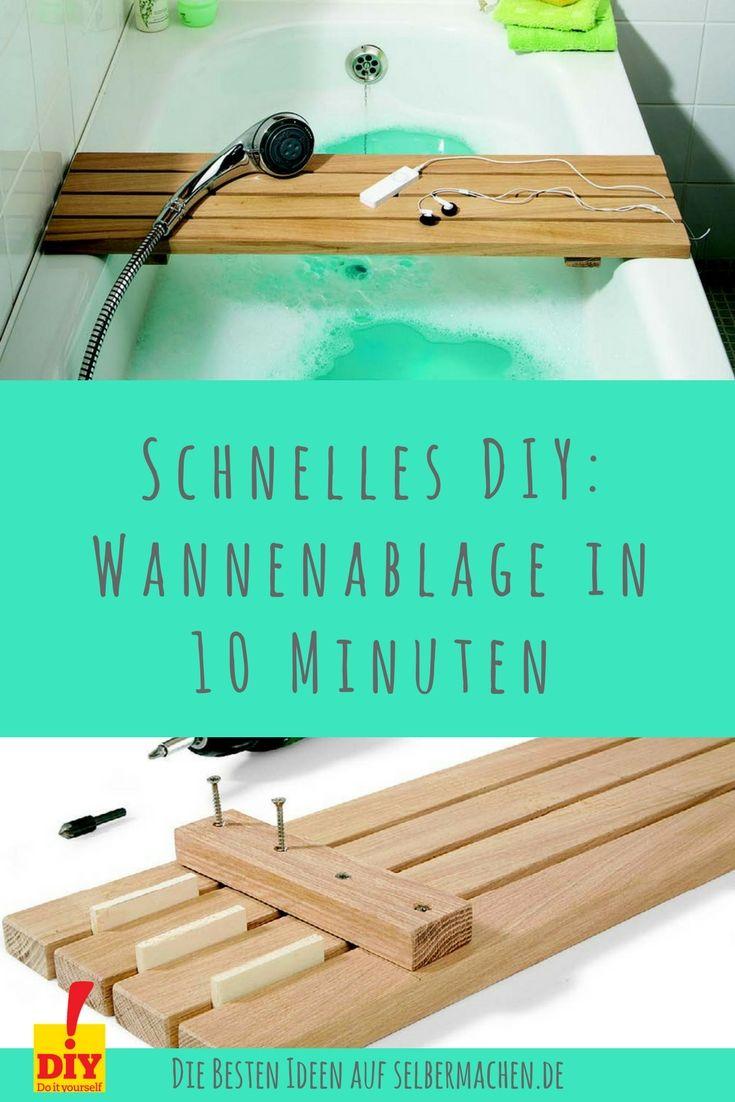 Badezimmer renovieren: Spiegelwand aus Holz (mit Bildern ...
