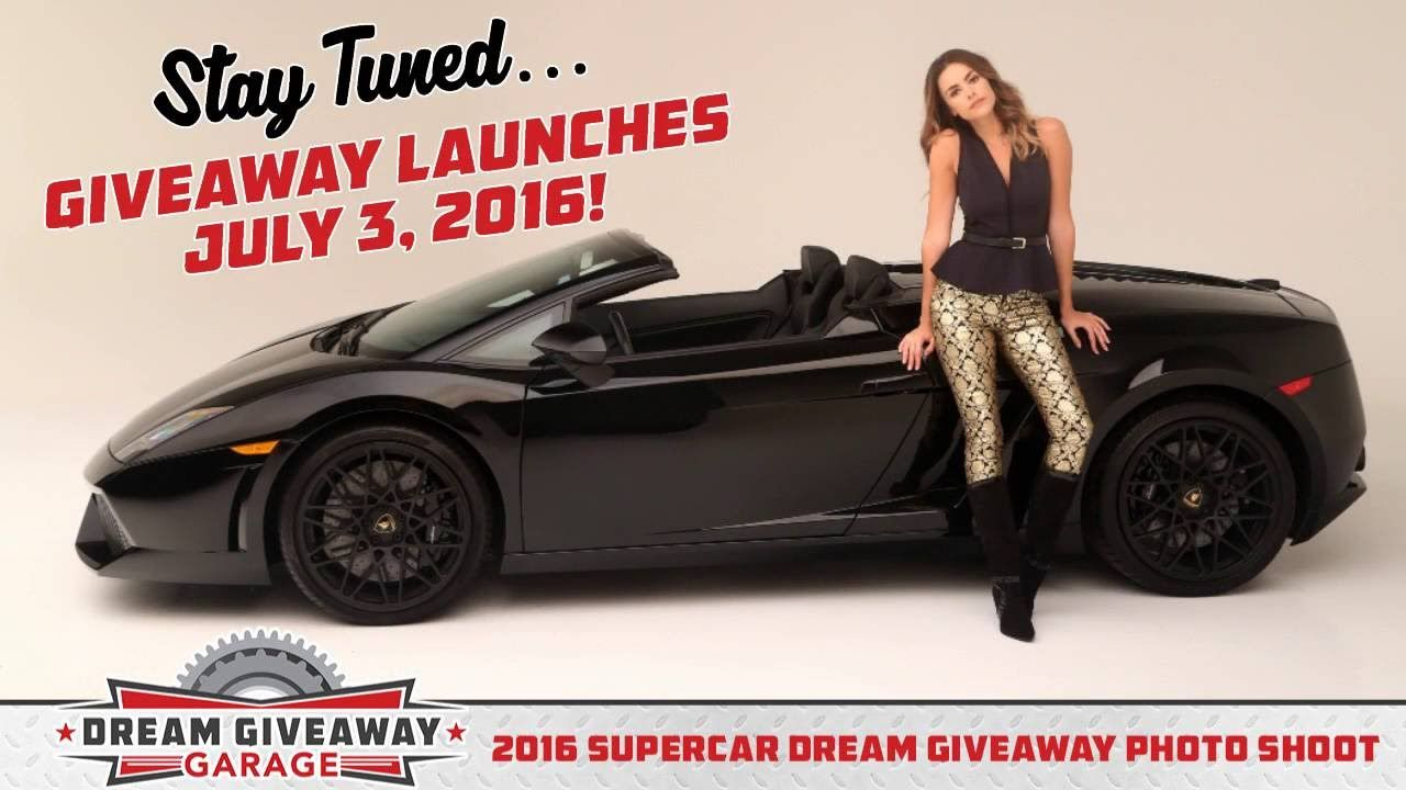 Meet The Supermodel Of The Supercar Dream Giveaway Dream Giveaway Super Cars Dream