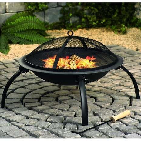 Kingfisher Outdoor Garden Patio Fire Pit Heater