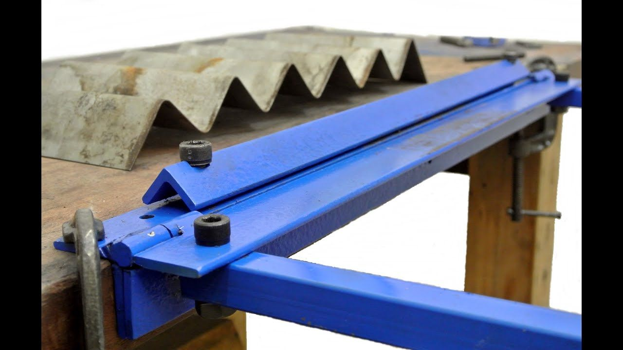 Homemade Sheet Metal Bender Youtube Sheet Metal Bender Metal Bender Sheet Metal Fabrication