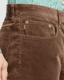 74d93efbf0 Pantalón de hombre de pana slim marrón
