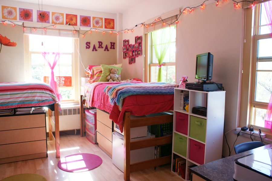 Knapp Dorm Room Texas Tech