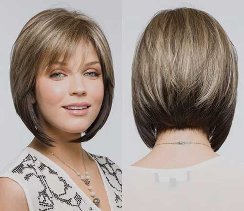 Angled Bobs With Bangs Frisuren