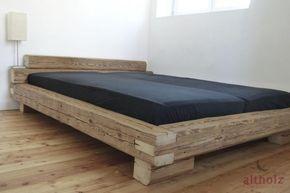 Balkenbett bauanleitung  Bauanleitung Balken-Bett | Bedrooms, Woods and Cabin furniture