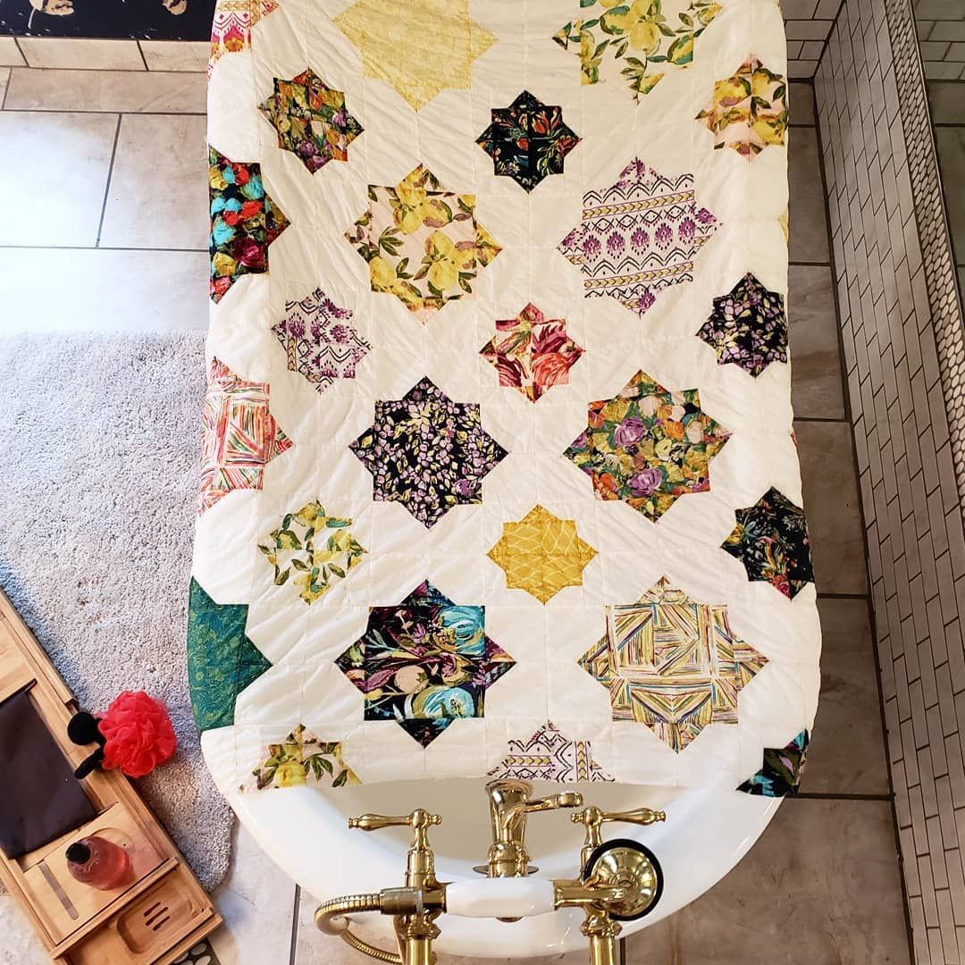The #cuddlestarquilt That Just Wont Stop. Picked The
