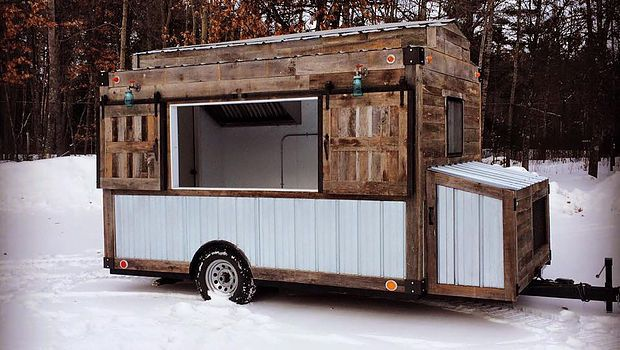 Custom Food Truck Builder Trailers Carts Caged Crow