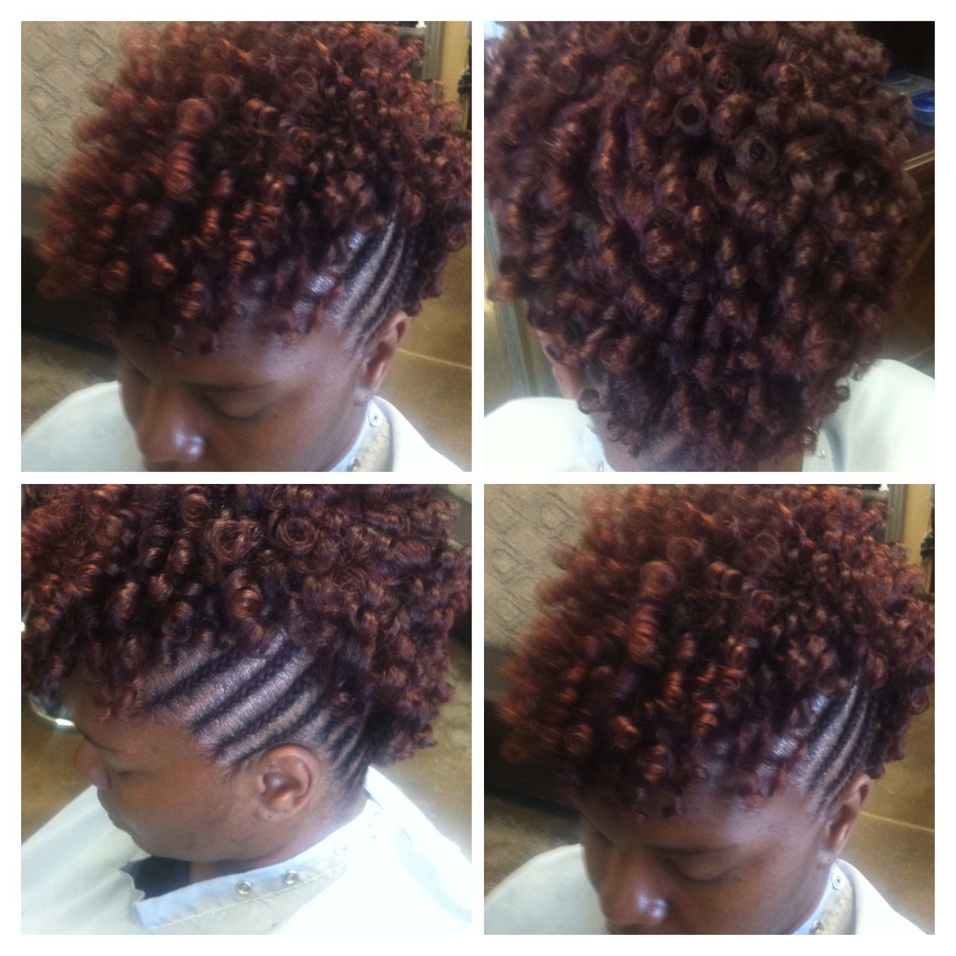 Natural Rods Great For Working Out Relaxed Hair Natural Hair Styles Hair Styles