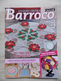 Olá!!!   Meu presente de Natal deste ano chegou adiantado, olha o meu trabalho na capa da revista Barroco!!! Quando olho assim, quase nem a...