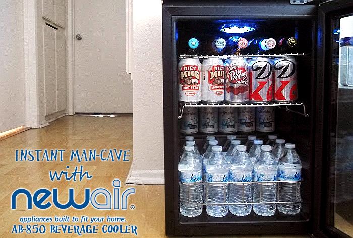 Blog POP! NewAir AB850 Beverage Cooler For Your FanCave