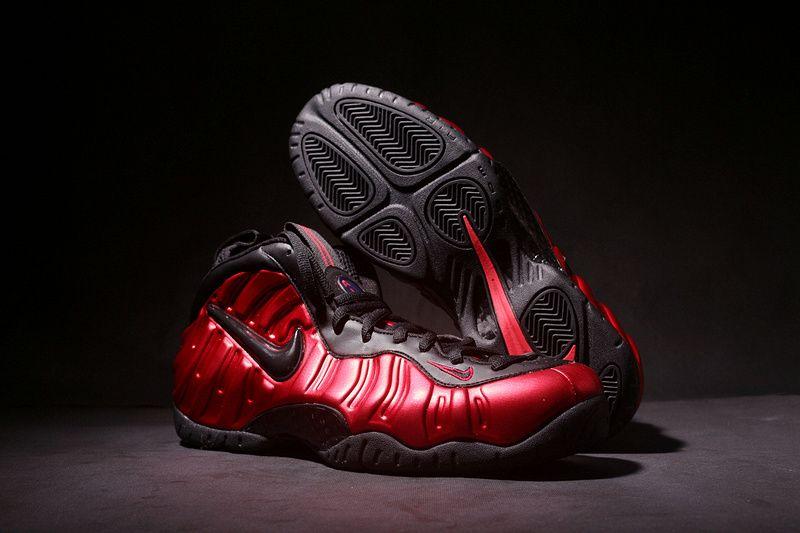 d26af4ceeeeb3 Nike Air Foamposite Pro University Red Black Men s Size 624041-604 ...