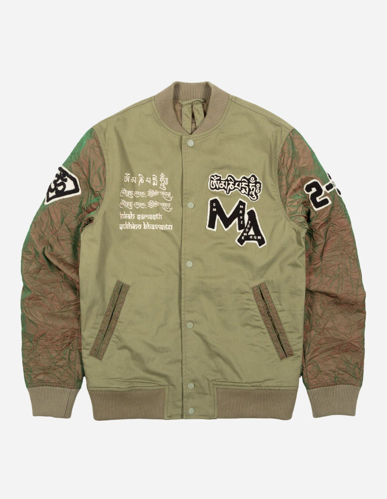 maharishi | Mani Stadium Jacket in 2020 | Jackets, Outerwear