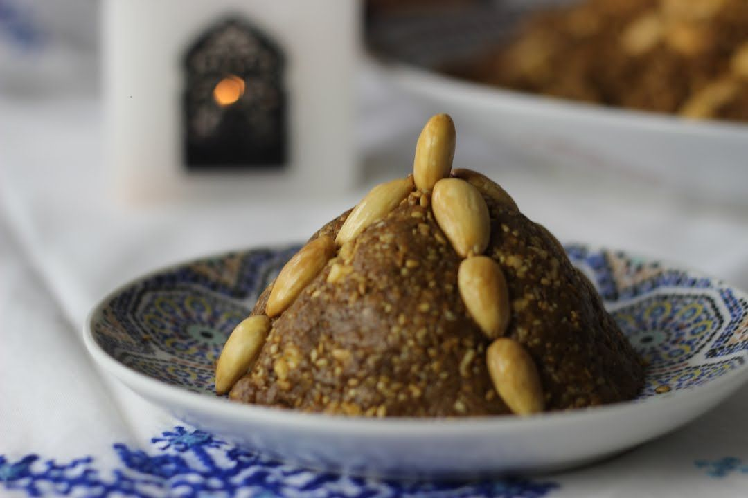Sellou / Sfouf / Zamita - Marokkanische Süßspeise Ramadan ...