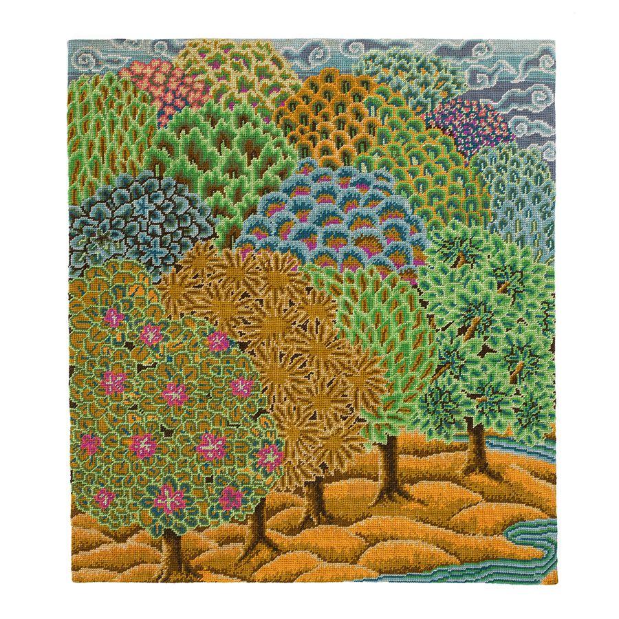Kaffe Fassett Knitting Kits : Mughal forest ehrman tapestry kaffe fassett
