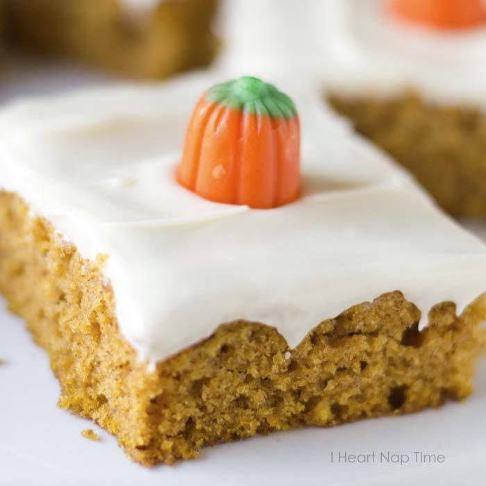 Pumpkin Dessert Bars Recipe: The BEST Pumpkin Bars With Cream Cheese Frosting