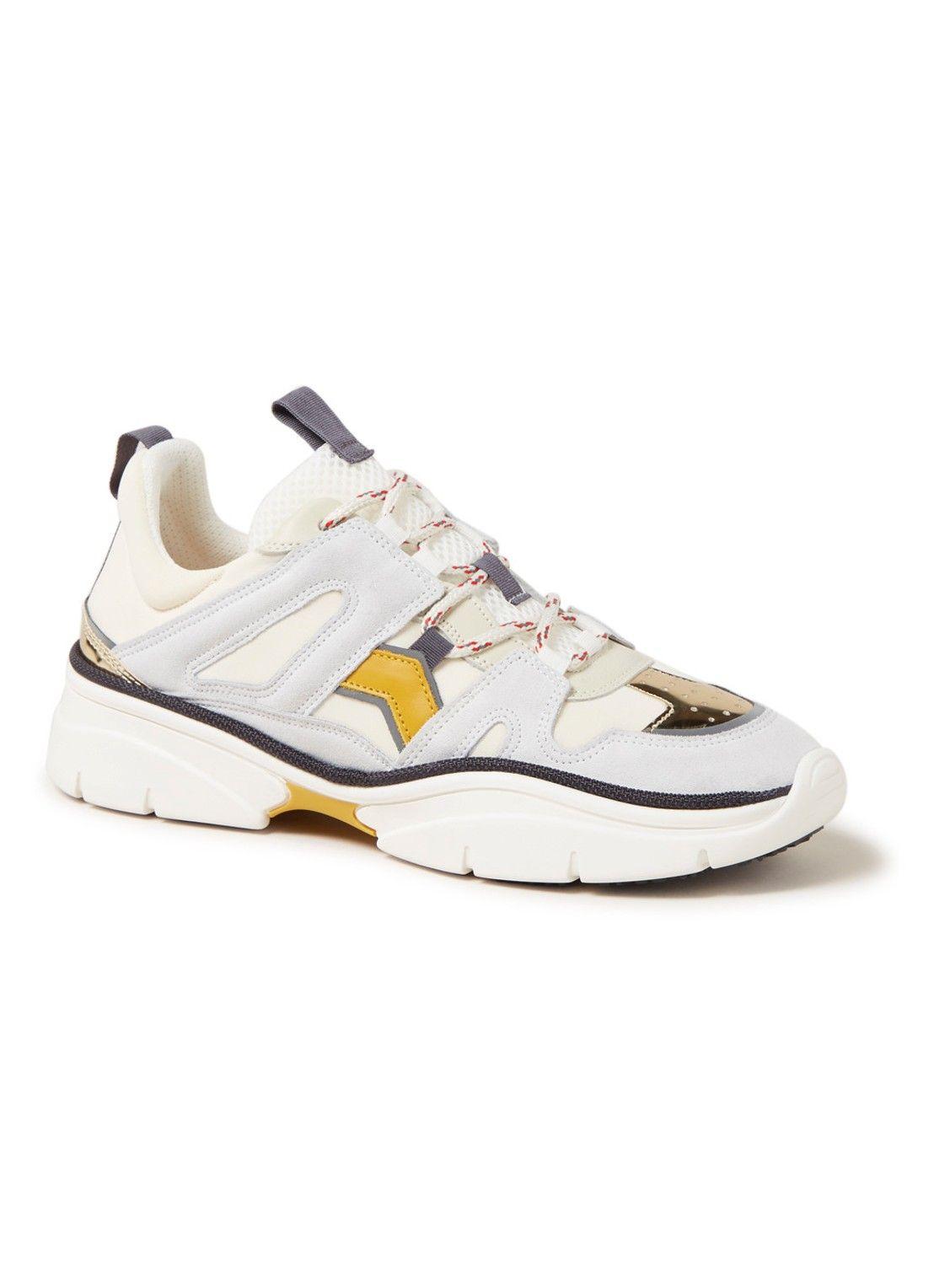 c7abfc42ce0e6 Isabel Marant Kindsay sneaker met suède details • de Bijenkorf ...