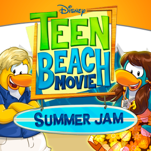 Teen Beach Movie's Ross Lynch and Chrissie Fit Talk Club Penguin