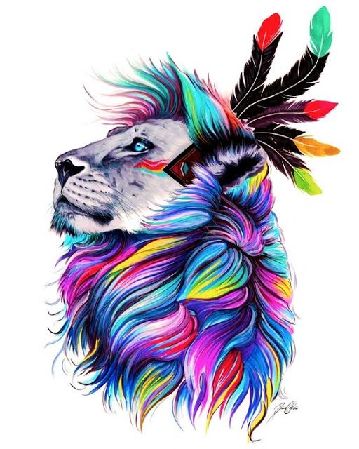 Plantilla Para Tatuar Leones Gorras Pinterest Arte Acuarela Y