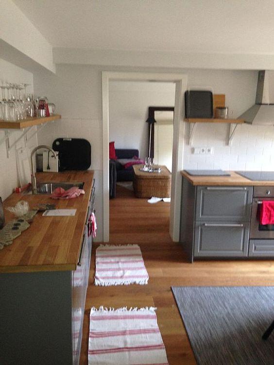 Appartement ANNE Garmisch-Partenkirchen - Wohnküche mit Zugang zur ...