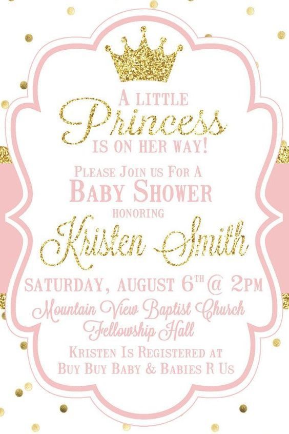 Little princess baby shower invitation pink by sweetsimplysouthern little princess baby shower invitation pink by sweetsimplysouthern filmwisefo
