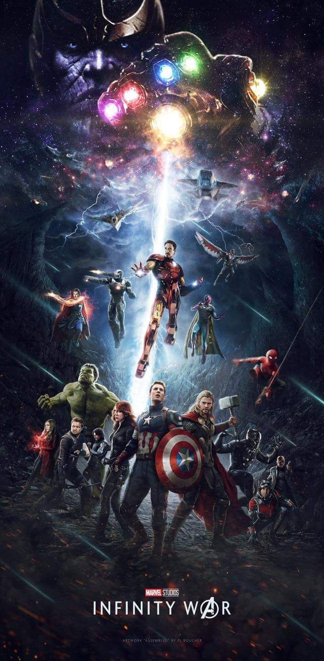 Vengadores: Infinity War: ¿Este póster es oficial o un increíble fan made?