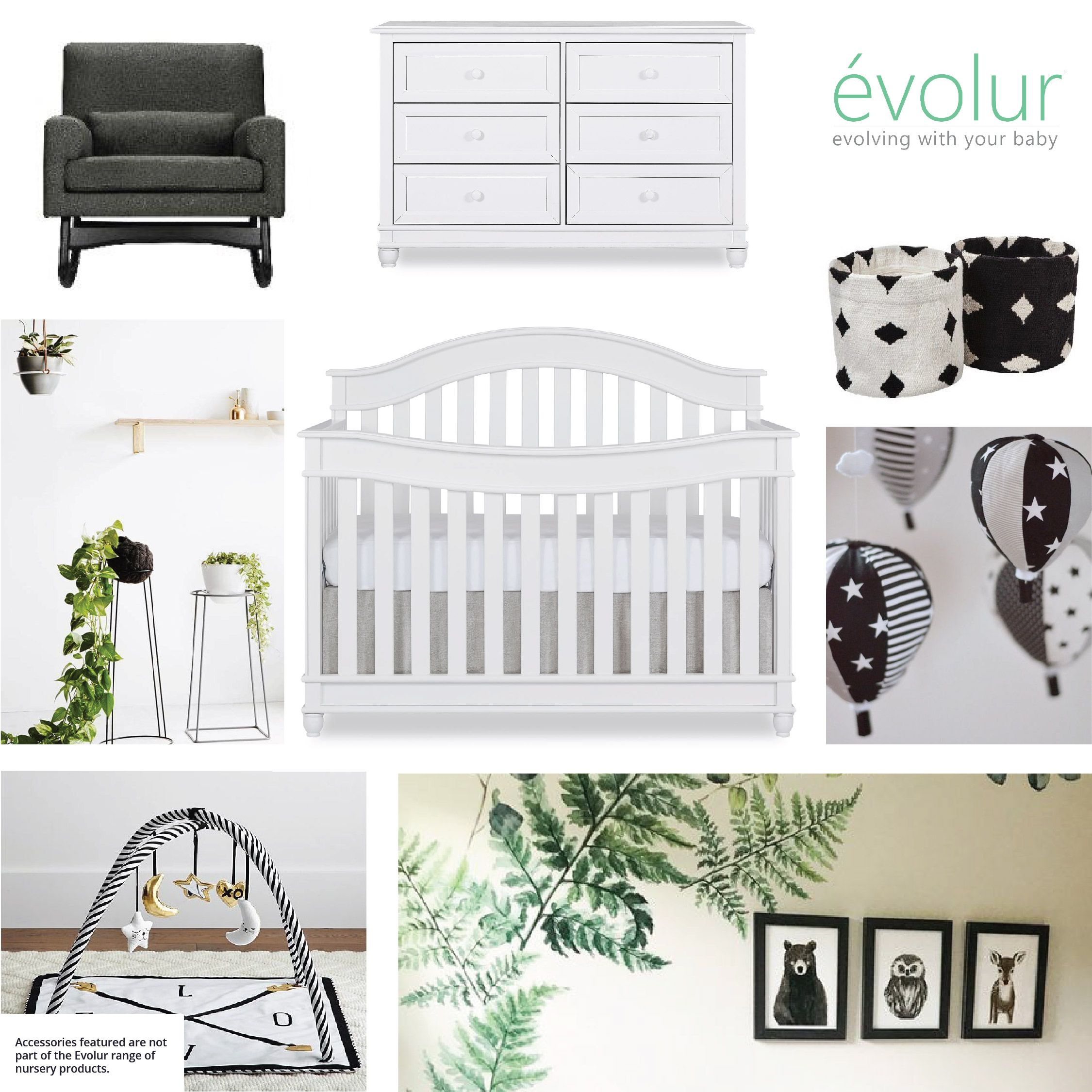 How About This Ultra Modern Nursery In Black And White With