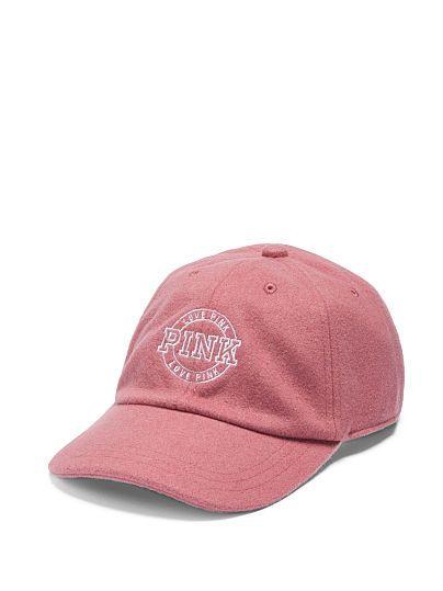 20238999c8eb9 Wool Baseball Hat PINK Gorras