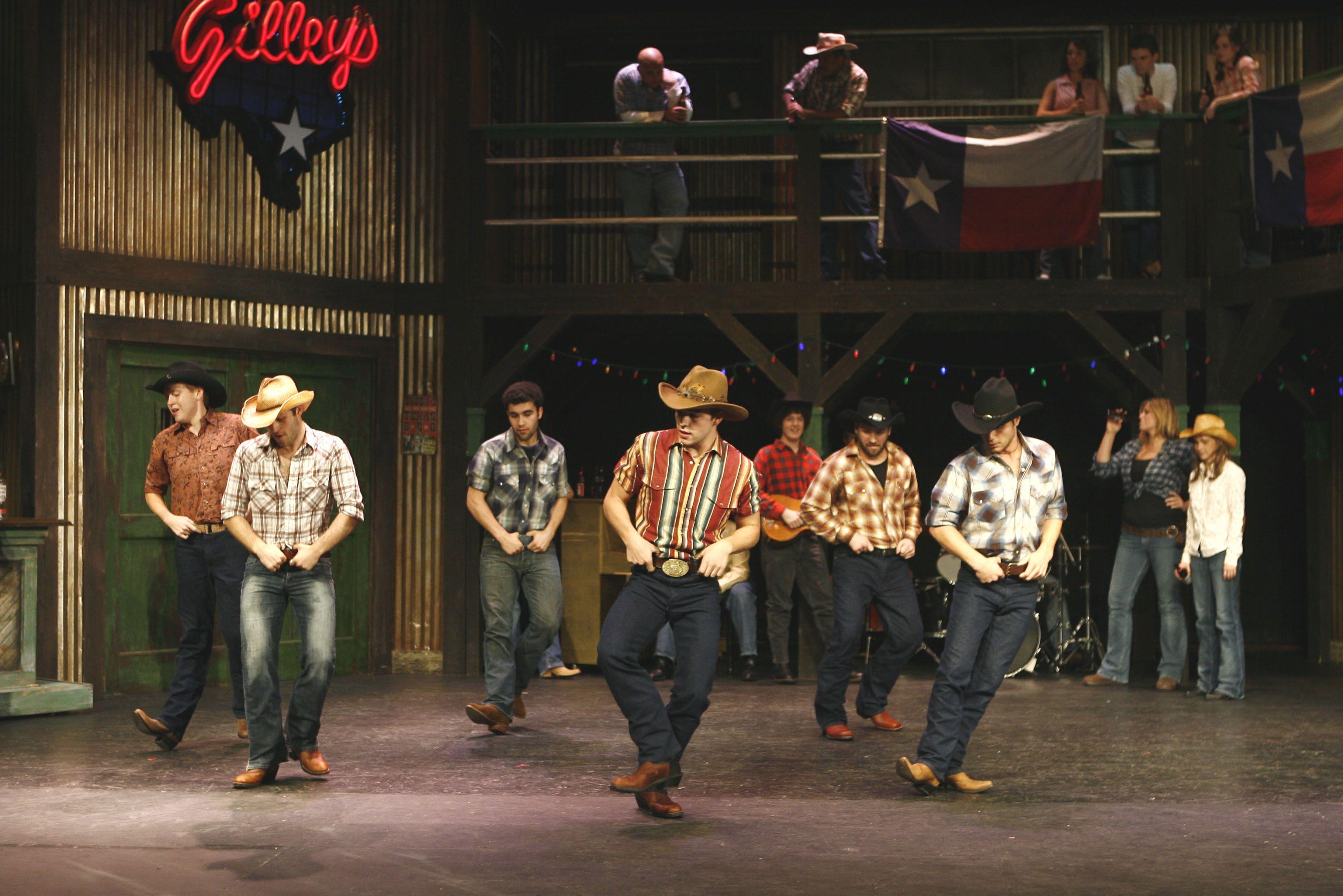 cowboy dance | TheUrbanCowboyMusical I need to learn to line