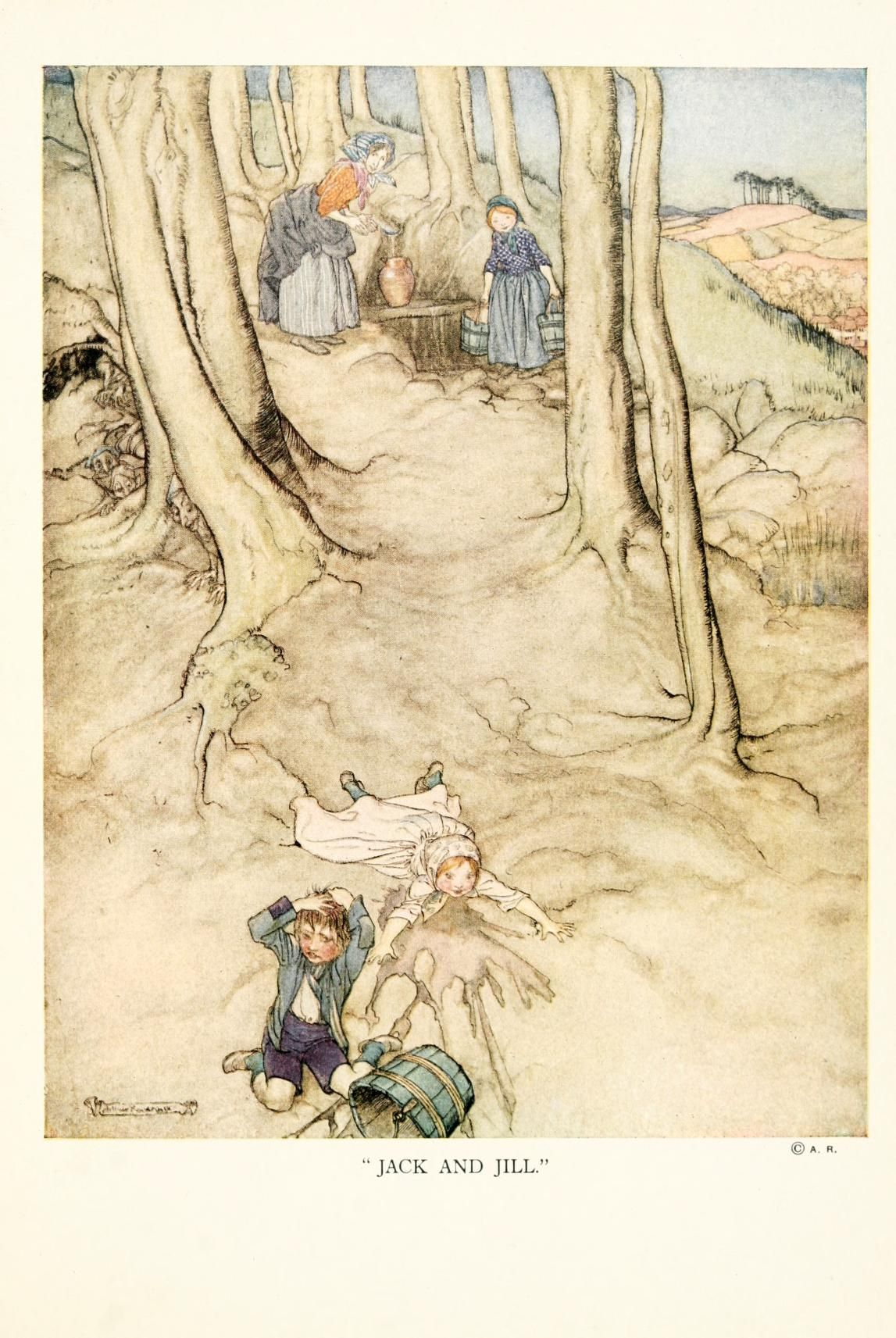 Arthur Rackham /The old nursery rhymes | Arthur Rackham | Pinterest ...