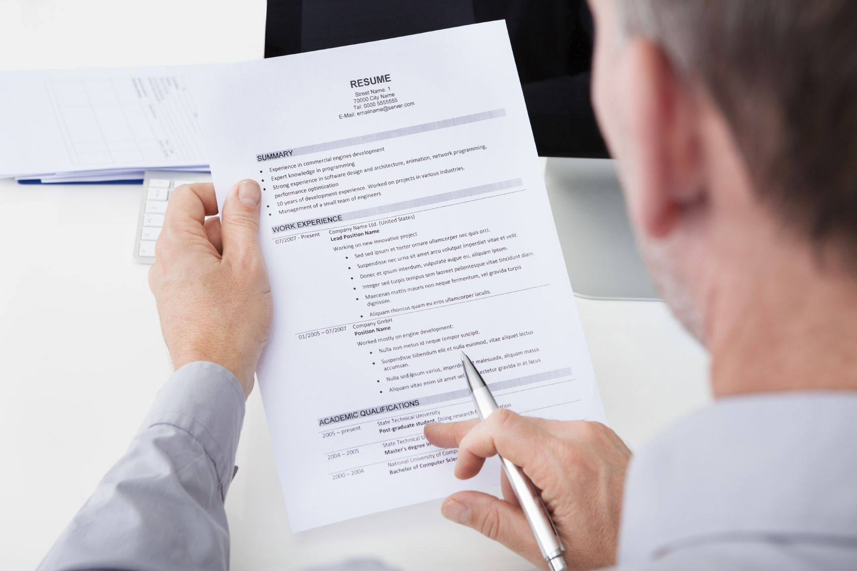 Your resume will catch the eye of employers by including
