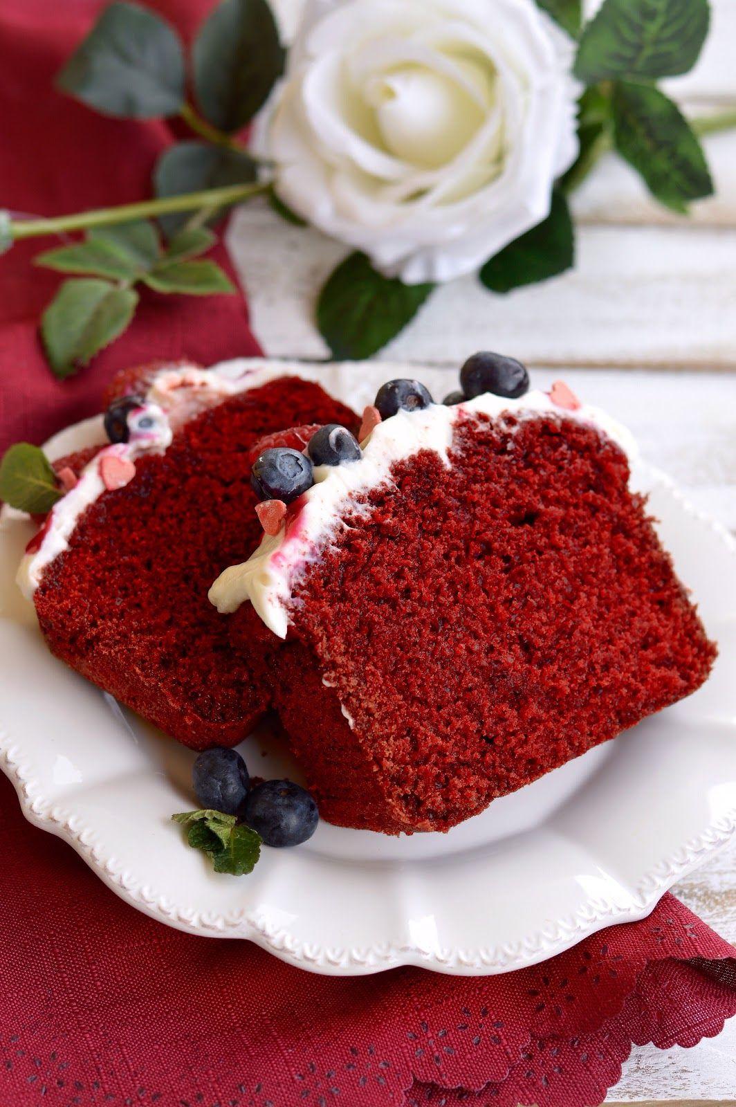 Red velvet plumcake | Ricette da provare | Pinterest | Plum cake, Red Velvet e Cake