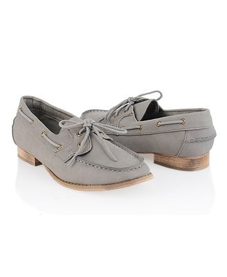Leatherette Boat Shoes - Shoes - Casual - 2064787136 - Forever21 - StyleSays