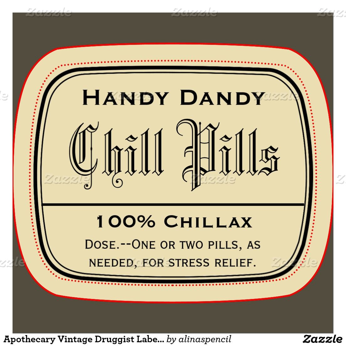 30 Chill Pill Printable Label Labels Ideas For You