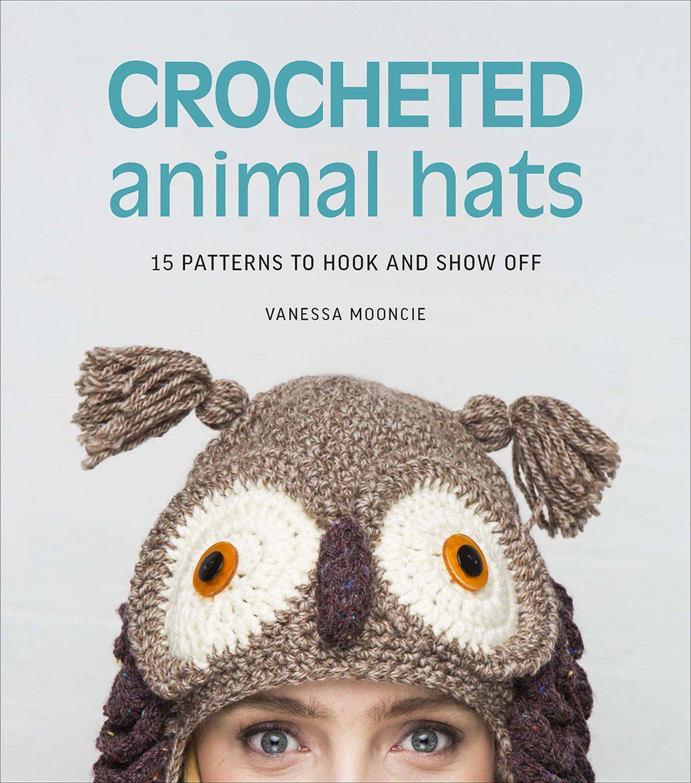 Crocheted Animal Hats | Gorros, Tejido y Gorros crochet