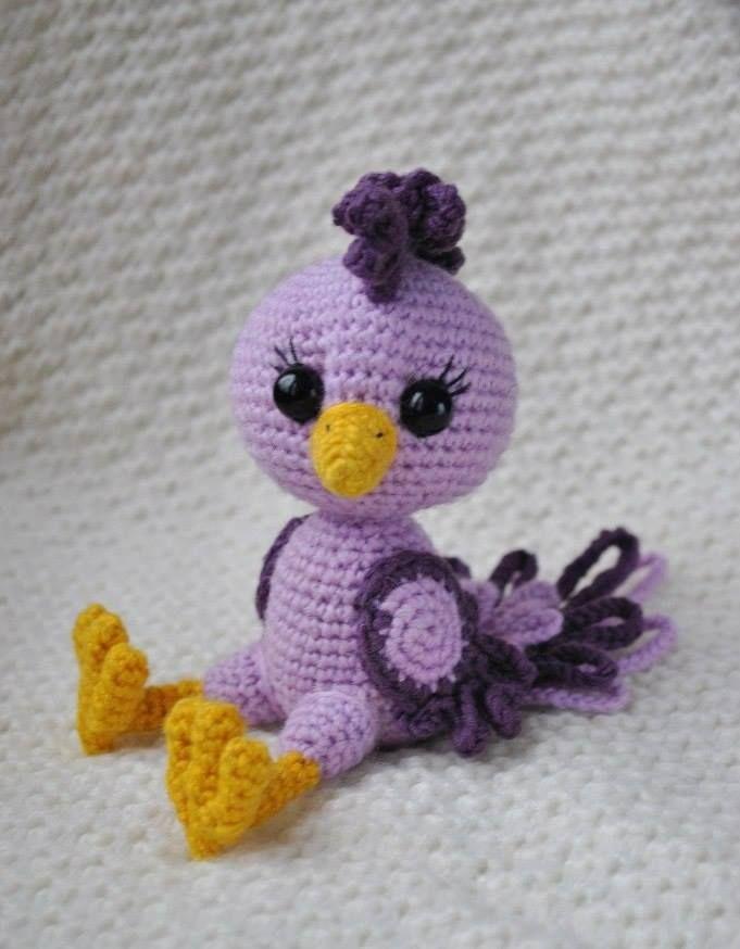 https://amigurumi.today/crochet-bird-amigurumi-pattern/ | Crochet ...