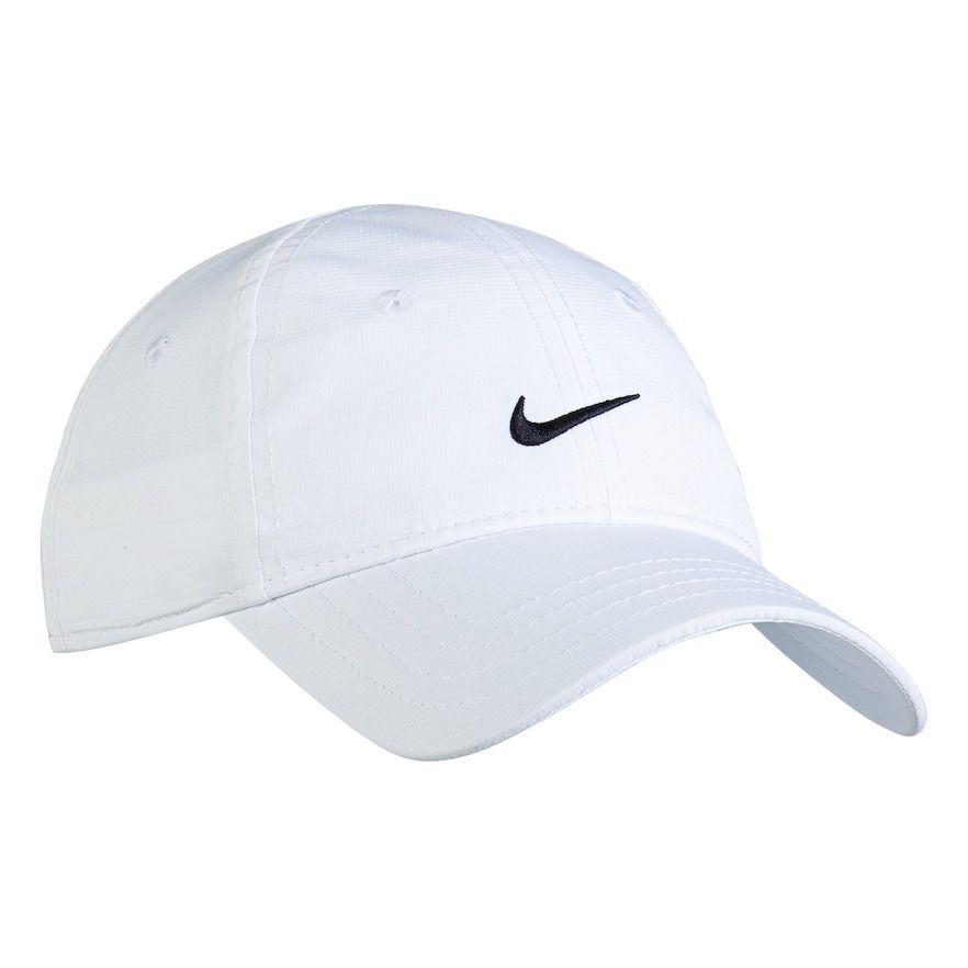 1bff45fa74 Toddler Boy Nike Essential Dri-FIT White Baseball Cap in 2019 ...