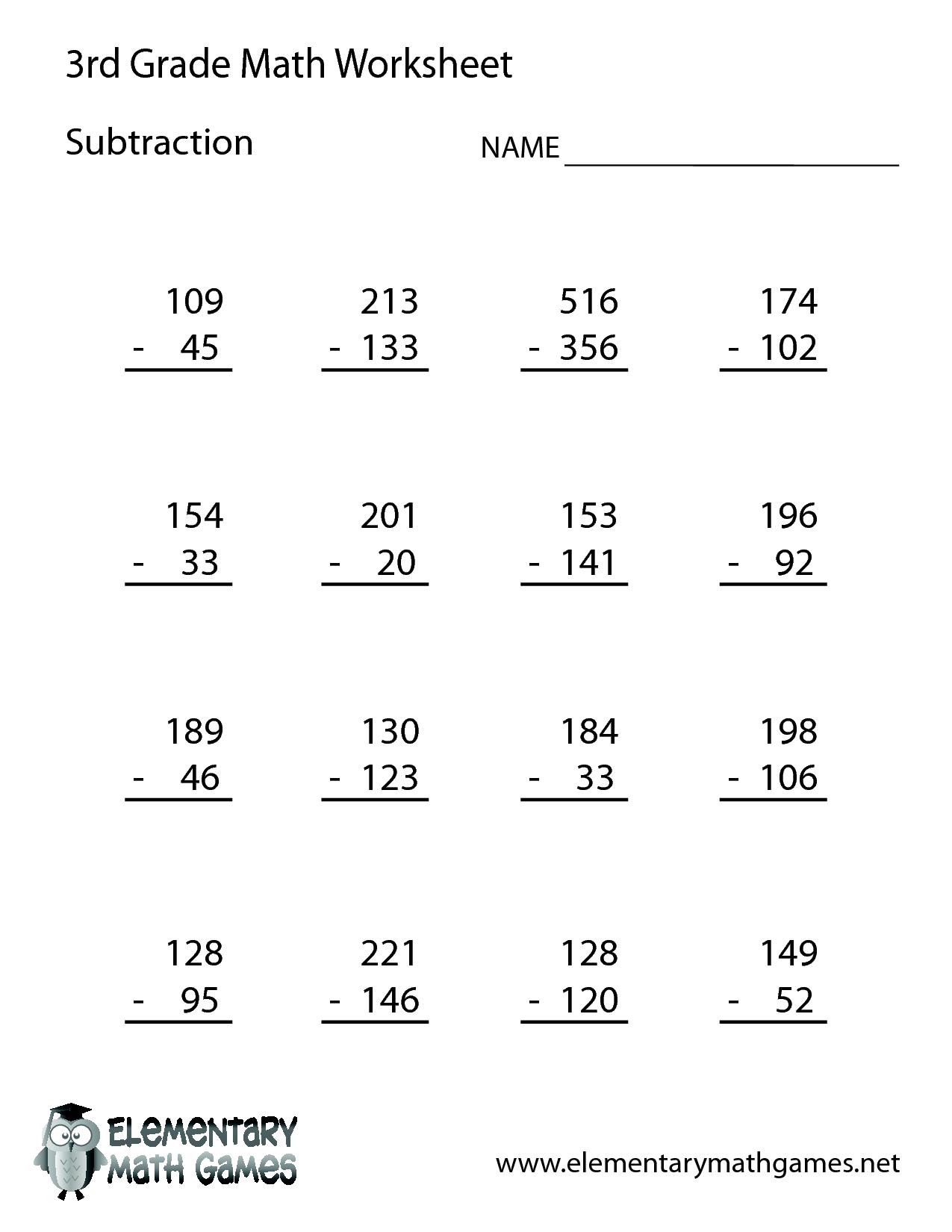 Тема Numbers / Maths 3 кл (читаємо приклад англійською)   3rd grade math  worksheets [ 1650 x 1275 Pixel ]
