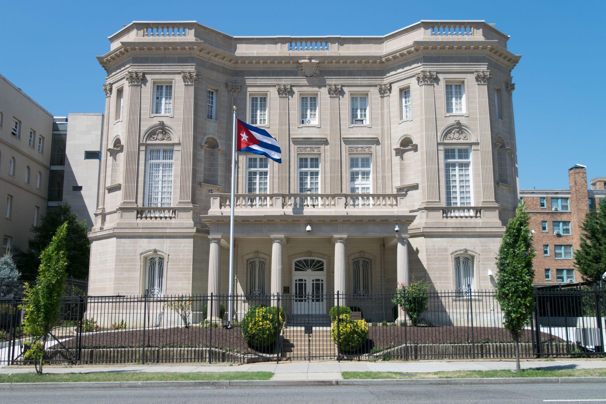 Cuban embassy in Washington DC Cuba travel, Cuba, Havana