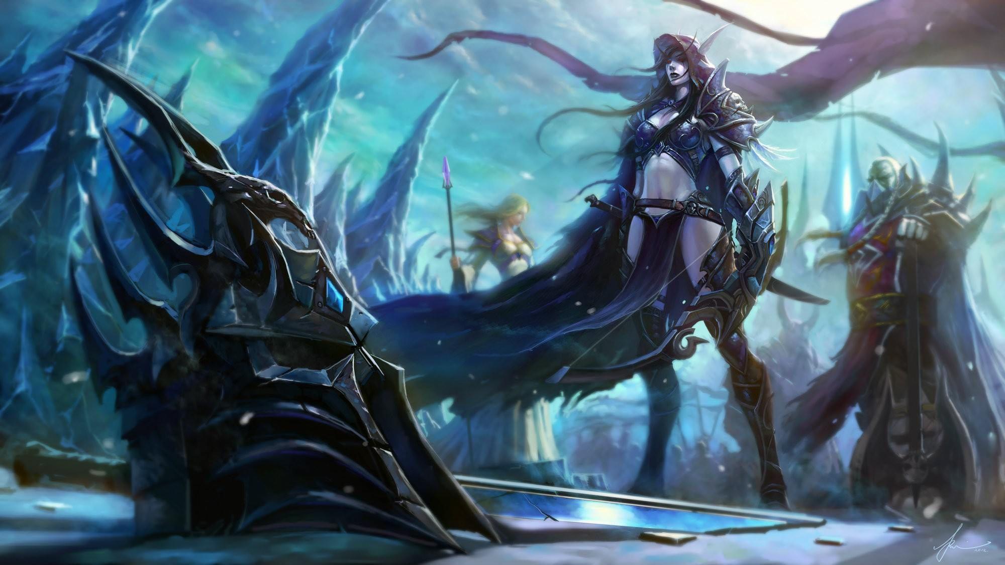 Mobile And Desktop Wallpaper Hd World Of Warcraft Wallpaper Warcraft Art World Of Warcraft Characters